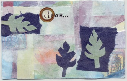 Collaged Postcard 'Dear…'