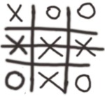 example of tha game of Noughts and Crosses