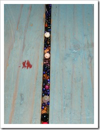 beaded floorboards