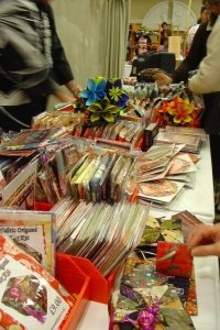 photo of japanese paper stall